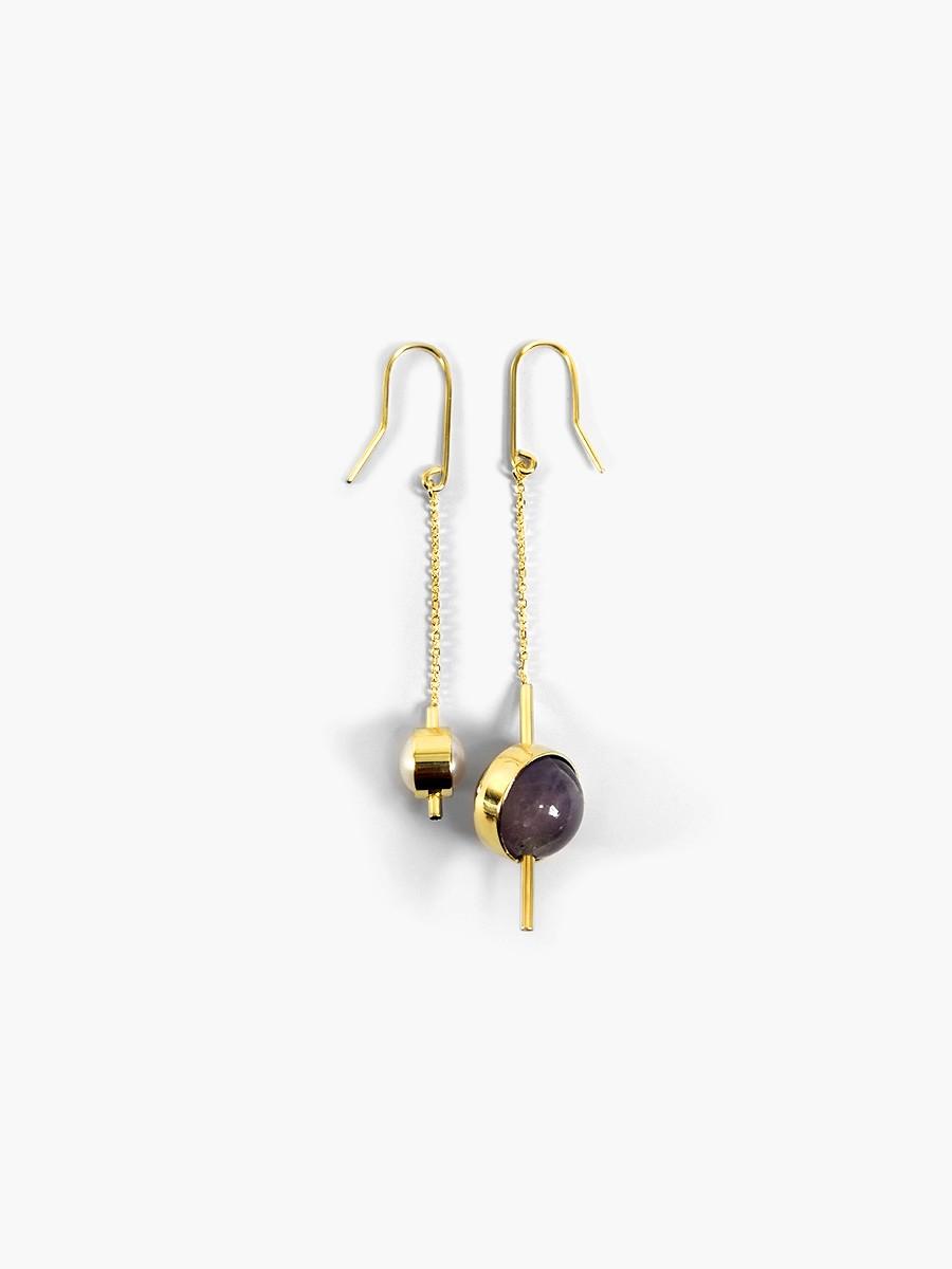Boucle d'oreille de la collection Solstice
